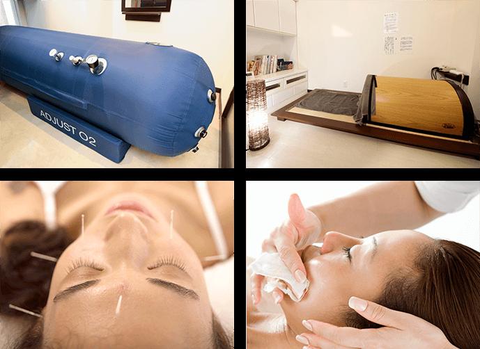 当院では、歯科治療に合わせさまざまな治療メニューをご用意しております。